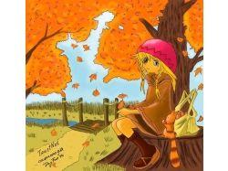 Картинки осень как нарисовать