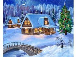 Новый год картинки зима