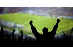 Широкоформатные фото футбол
