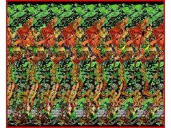 Картинки 3d иллюзии для глаз