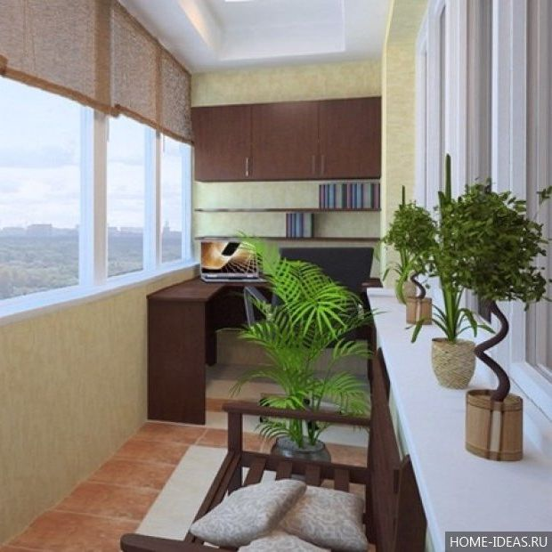 Балкон и лоджия: 20 лучших идей на тему дизайна.