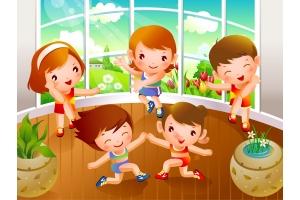 Спорт картинки детские