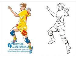 Спорт фото карандашом 1