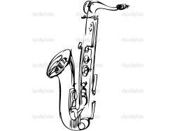 Рисунки музыкальных инструментов 5