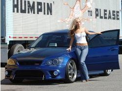 Бесплатные картинки авто и девушки 2