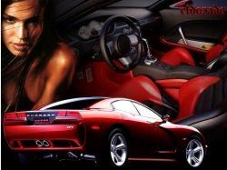 Бесплатные картинки авто и девушки 3