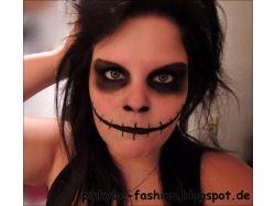 Хэллоуин фото макияж 1
