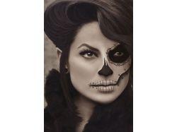 Хэллоуин фото макияж 2
