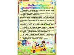 Правила поведения в транспорте для детей 3