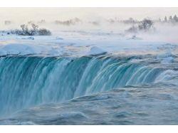 Ниагарский водопад фото зима 6