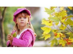Картинки осень и дети 3