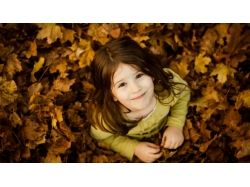 Картинки осень и дети 4