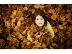 Картинки осень и дети 6