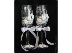 Бокалы на свадьбу фото 2