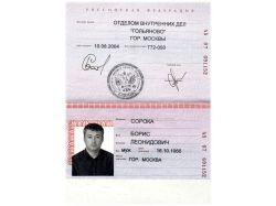 Паспорт картинки 1