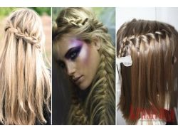 Плетение кос на средние волосы фото 2