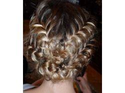 Плетение кос на средние волосы фото 6