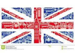 Фото флаг лондона 3