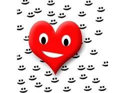 Картинки смайлики про любовь