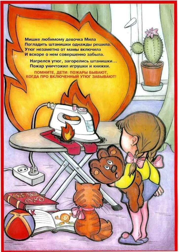 Детям о пожаре в картинках, картинки милые открытки