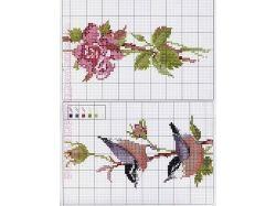 Вышивки крестиком картинки схемы 5