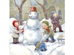 Картинки зима простоквашино 6