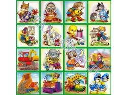 Картинки на шкафчики в детском саду 1