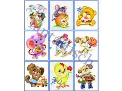 Картинки на шкафчики в детском саду 4