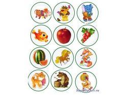 Картинки на шкафчики в детском саду 5