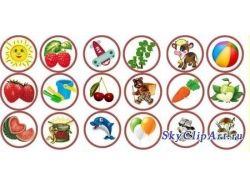 Картинки на шкафчики в детском саду 6