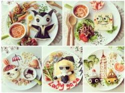 Рисунки еды 4