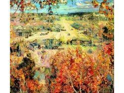 Картины известных художников осень 1