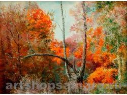 Картины известных художников осень 3