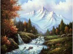 Картины известных художников осень 4
