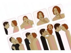 Поцелуй с языком картинки 5