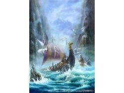 Рисунки викингов 2