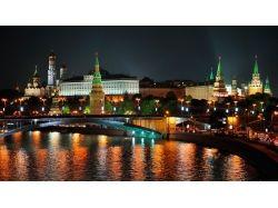 Москва ночью фото 1