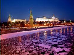 Москва ночью фото 3