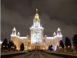 Москва ночью фото 6