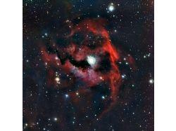 Фото космос газовые туманности 1