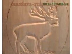 Плоскорельефная резьба по дереву 4