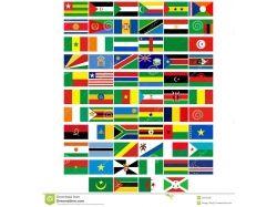 Флаги африки 3