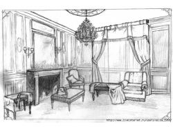 Рисунок интерьера 1