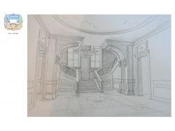 Рисунок интерьера 5