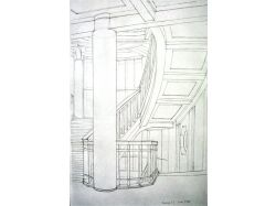Рисунок интерьера 6