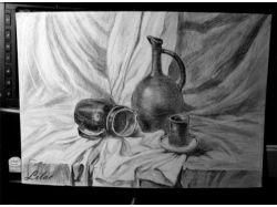 Картинки натюрморт карандашом 2