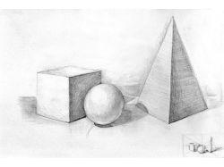 Картинки натюрморт карандашом 5