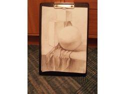 Картинки натюрморт карандашом 6