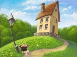 Анимационные картинки лето в деревне 4