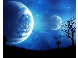 Ночное небо картинки 1